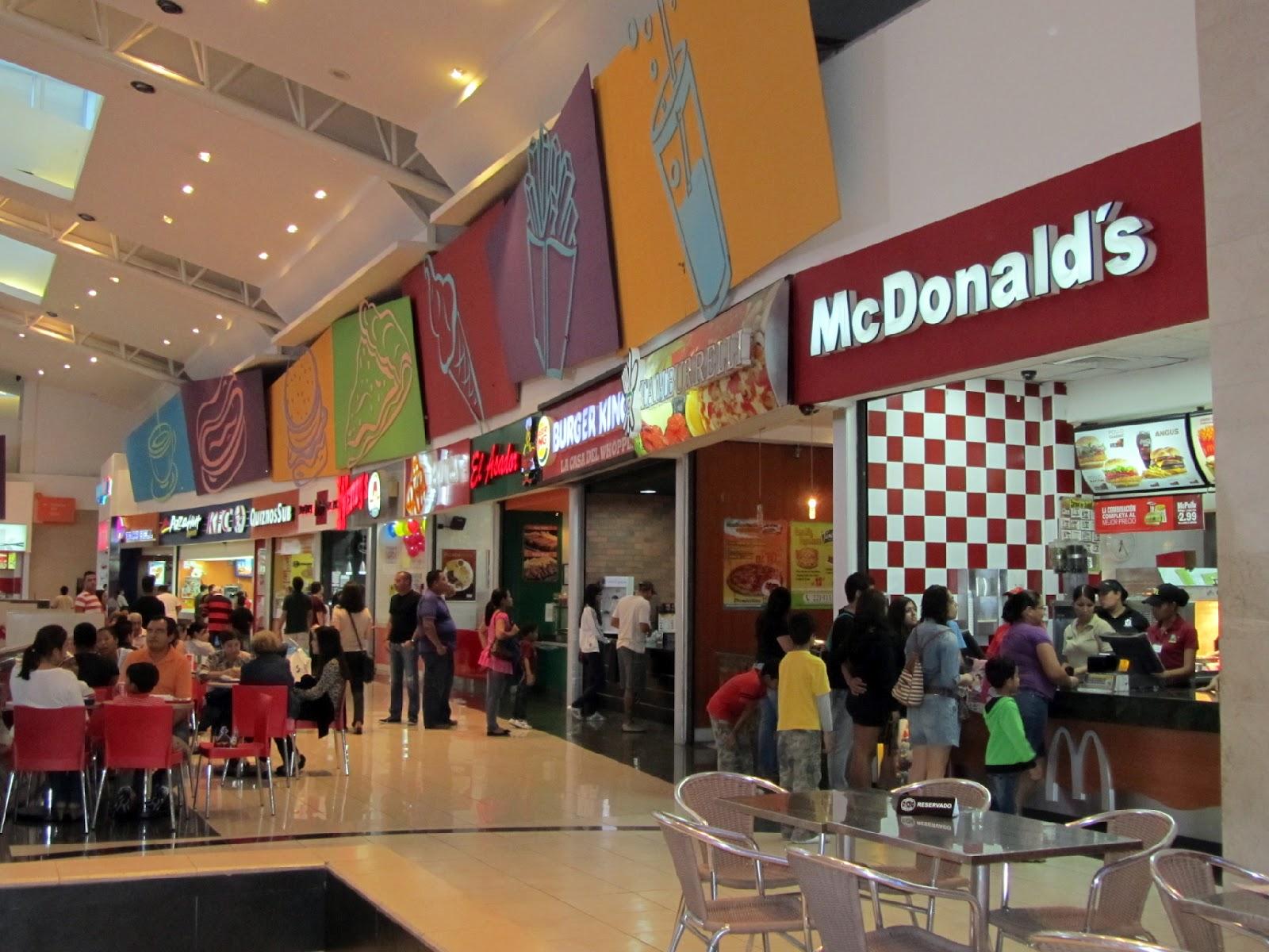 Mall Of America Fast Food